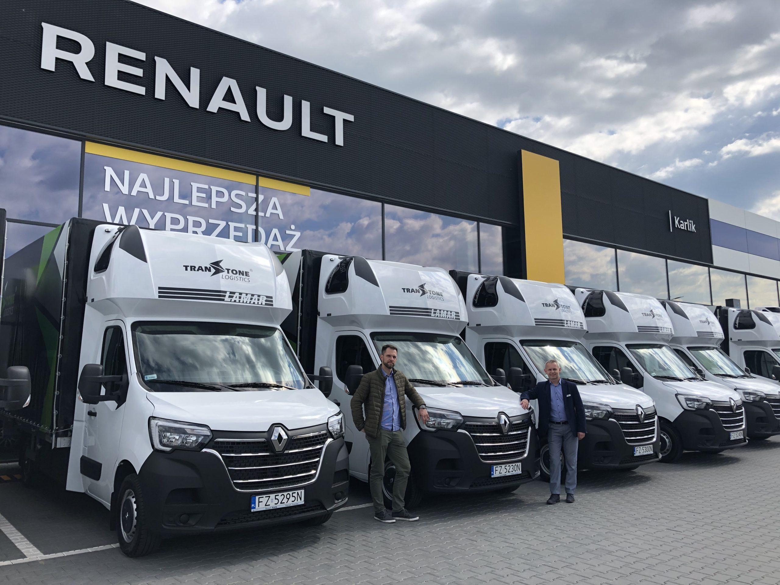 Flota Renault Master Karlik